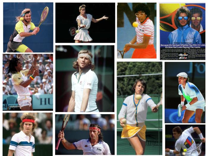 Tennis style 1980