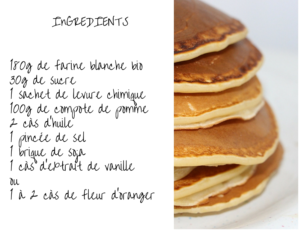 Ingredients Pour Les Pancakes Groupe Sister