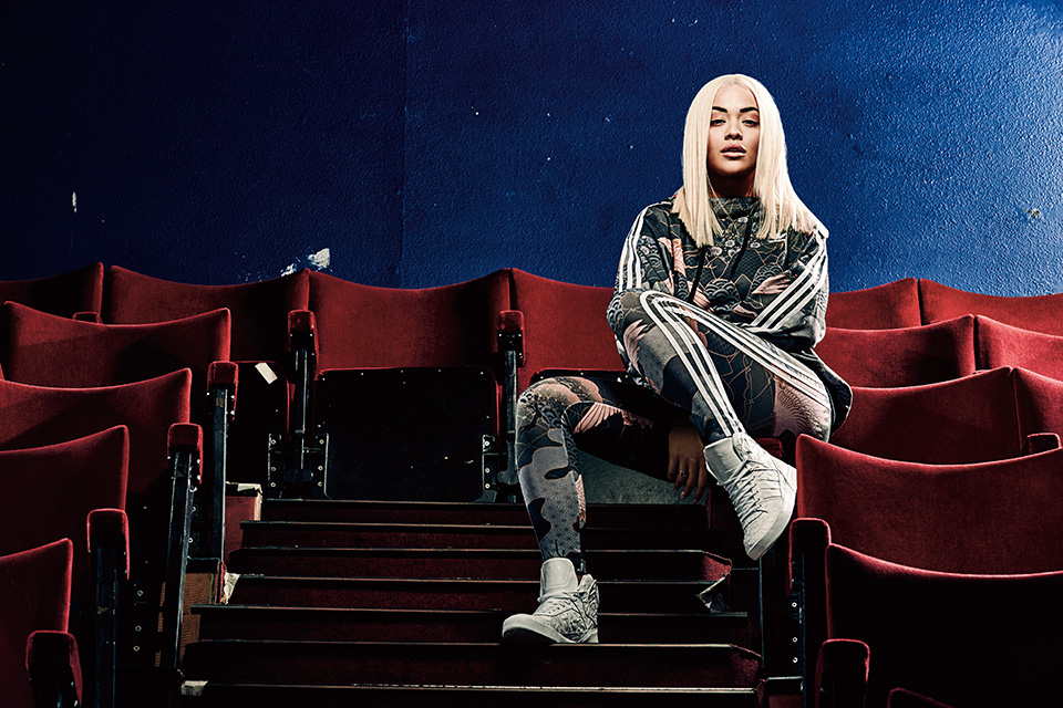 Rita Ora x adidas Originals Asian Arena Pack – Une Lila pause